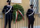 Marsciano, commemorazione carabiniere Giuseppe Briganti